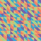 Retro Triangular Wallpaper Stock Photo