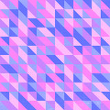 Retro Triangular Wallpaper Stock Image