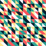 Retro Triangular Wallpaper Stock Photo