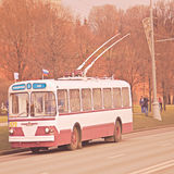 Retro trolleybus. Stock Photography