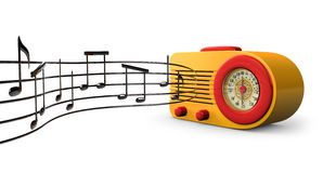 Retro Tunes Royalty Free Stock Photo