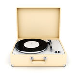 Retro turntable Stock Images