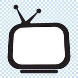 Retro TV stock illustratie