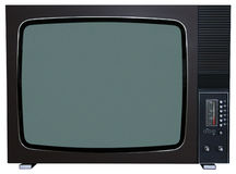 Retro TV Immagini Stock Libere da Diritti
