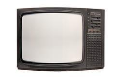 Retro TV. Isolated on white background Stock Images
