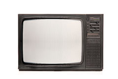 Retro TV stock afbeelding