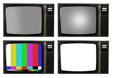 Retro tv Royalty Free Stock Photo