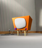 Retro TV stock photos