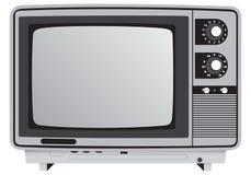Retro TV. Illustration retro TV set Royalty Free Stock Photos