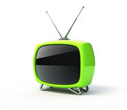 Retro tv Stock Image
