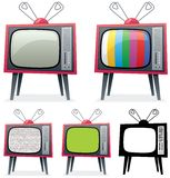 Retro TV Royalty Free Stock Photography