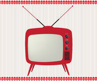 Retro TV Royalty Free Stock Photos