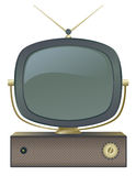 Retro TV. A classic retro television set Royalty Free Stock Image