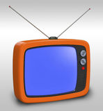 Retro TV Stock Afbeeldingen