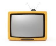Retro TV Fotografie Stock Libere da Diritti