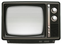 Retro TV Royalty Free Stock Image