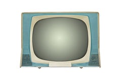 retro tv arkivbilder