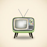 Retro TV Stock Photo
