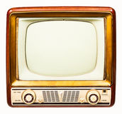 Retro TV Obrazy Stock