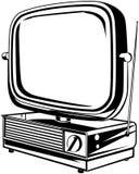 Retro TV 2 Stock Images