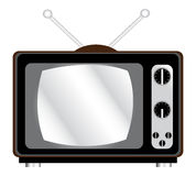 retro tv Obraz Royalty Free