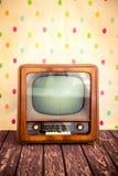 retro tv Obrazy Royalty Free
