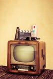 retro tv Zdjęcie Stock