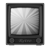 Retro TV Fotografia Stock
