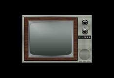 retro tv Obraz Stock