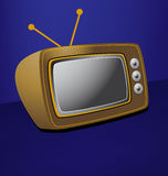 retro tv Obrazy Royalty Free