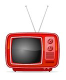Retro TV Royalty Free Stock Image