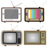 Retro TV Royalty-vrije Stock Afbeelding