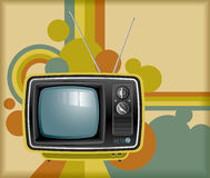 Retro TV Immagini Stock