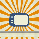 Retro TV background Stock Images