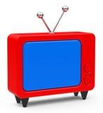 The retro TV Royalty Free Stock Photos