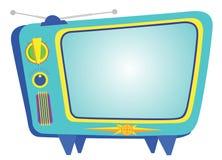 Retro TV emblem Stock Photos