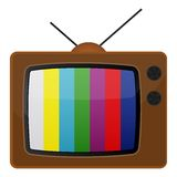 Retro tv, EPS 10 Royalty Free Stock Photos