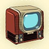 Retro TV home appliances Stock Images