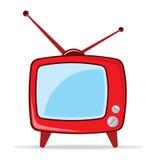 Retro tv icon Stock Image