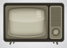Retro TV illustration Royalty Free Stock Image