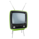 Retro TV isolated Royalty Free Stock Images