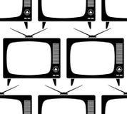 Retro TV pattern Stock Photography