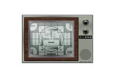 retro tv roczne Zdjęcia Stock