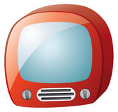Retro tv set Royalty Free Stock Photo