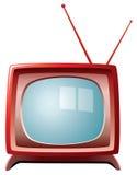 Retro tv set Stock Photo