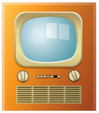 Retro tv set Royalty Free Stock Image