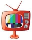 Retro tv set Royalty Free Stock Images