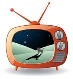 Retro tv set Stock Images