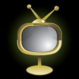 Retro TV set Royalty Free Stock Photography
