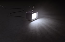 Retro TV set Royalty Free Stock Image